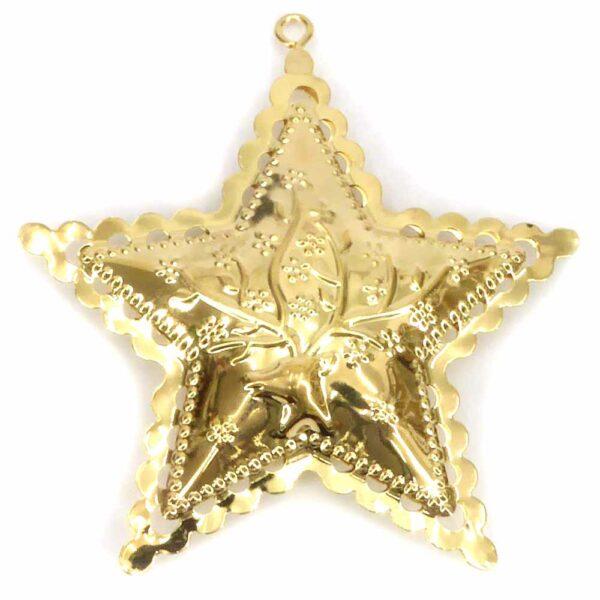 Stern aus Metall für Klosterarbeiten