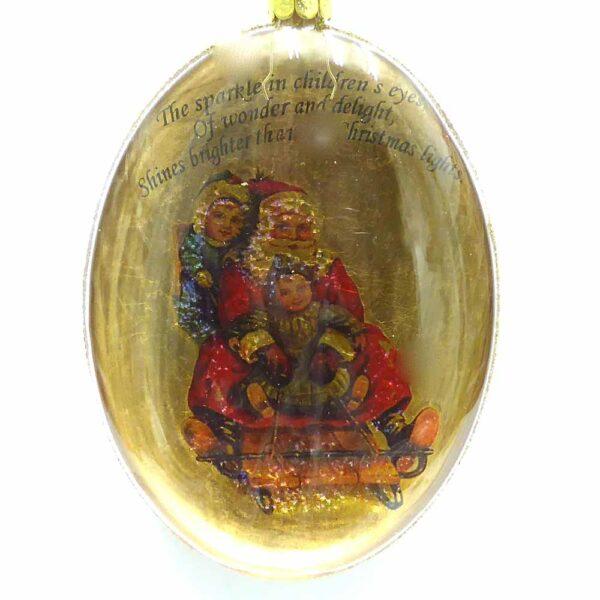 Glasornament zum hängen für den Christbaum