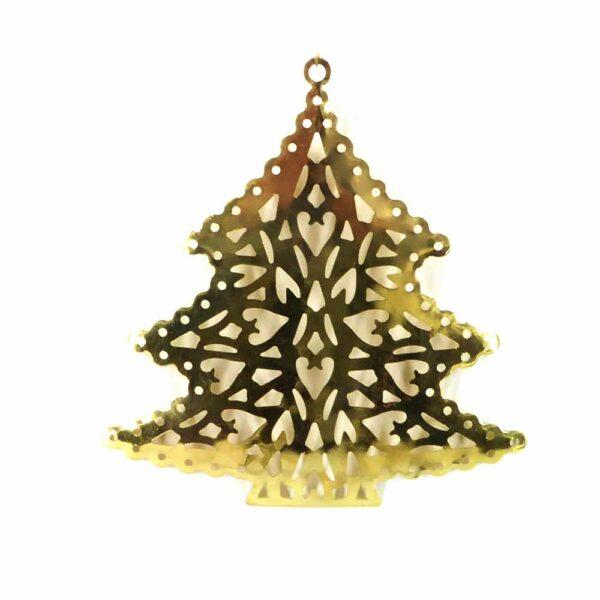 Baum aus Metall in gold für Klosterarbeiten