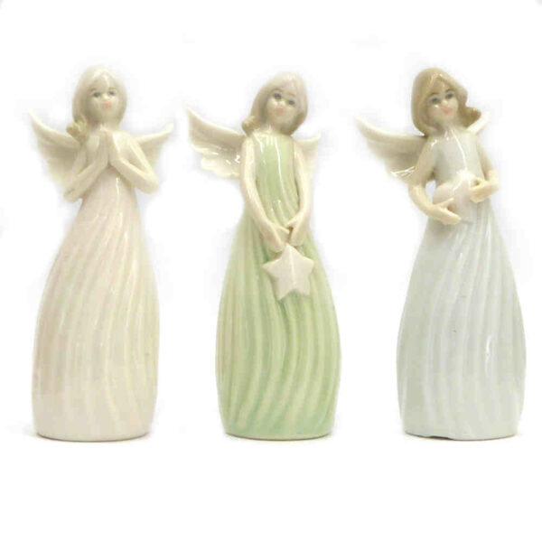 Porzellan-Engel in stehend für Klosterarbeiten